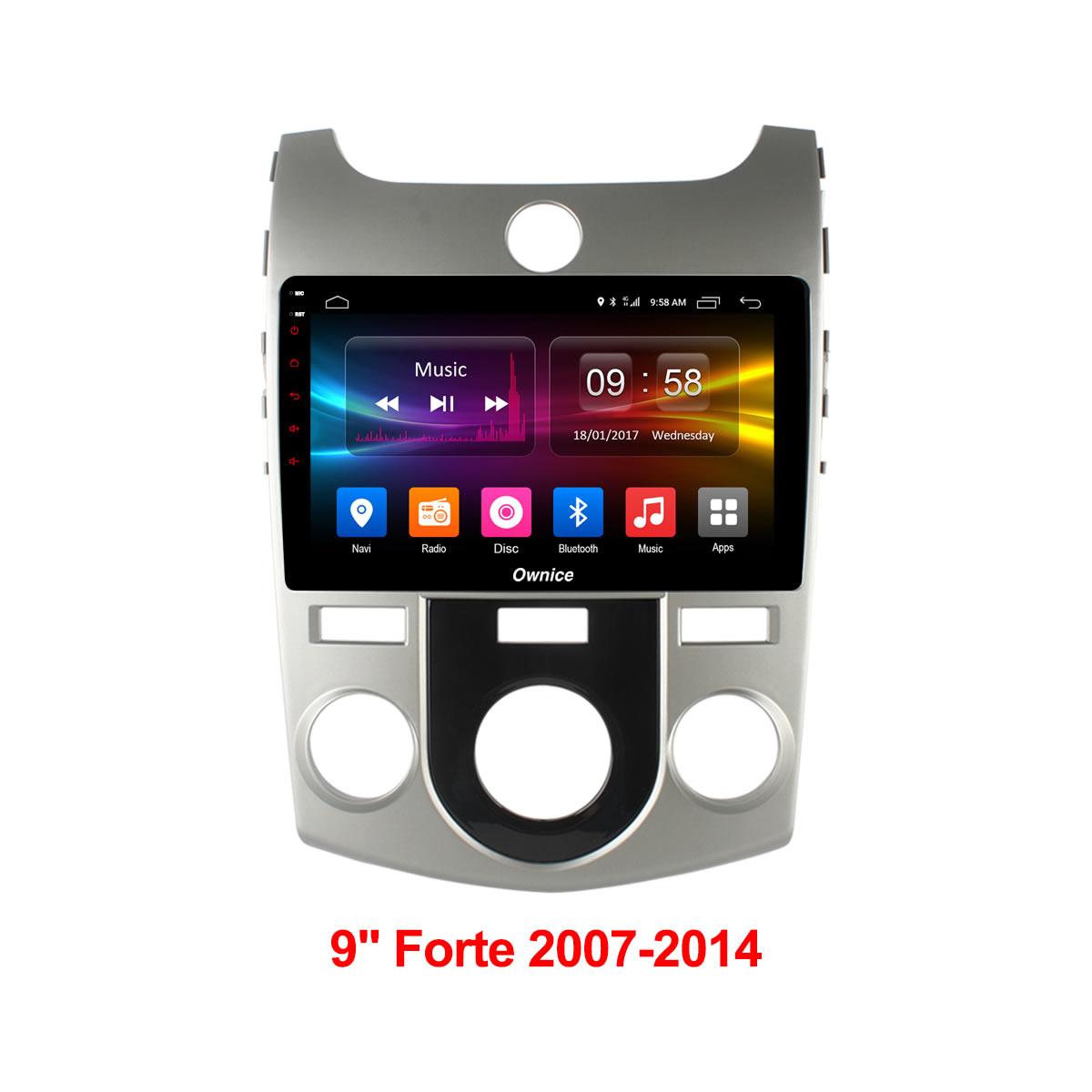 Штатная магнитола CARMEDIA OL-9736-M DVD Kia Cerato II 2008-2013 (TD) с кондиционером