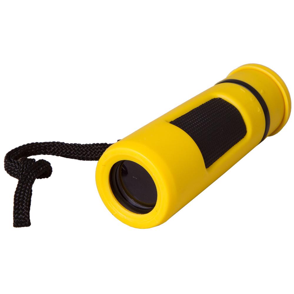 Монокуляр Bresser Topas 10x25 Yellow (+ Автомобильные коврики в подарок!)