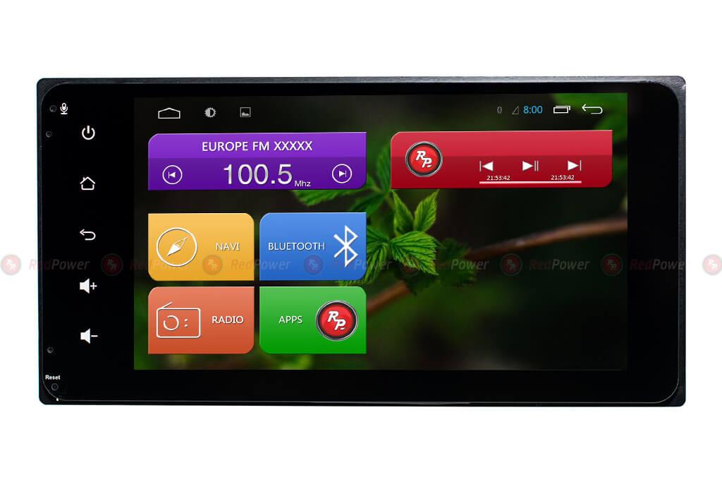 Универсальная магнитола Toyota Redpower 31071 IPS DSP ANDROID 7 (+ Камера заднего вида в подарок!)