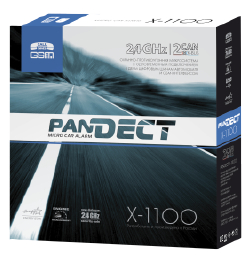 Автосигнализация Pandect X-1100 pandect x 1100