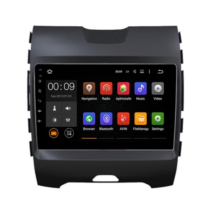 Штатная магнитола Roximo 4G RX-1712 для Ford Edge (Android 6.0) m8 fully loaded xbmc amlogic s802 android tv box quad core 2g 8g mali450 4k 2 4g 5g dual wifi pre installed apk add ons
