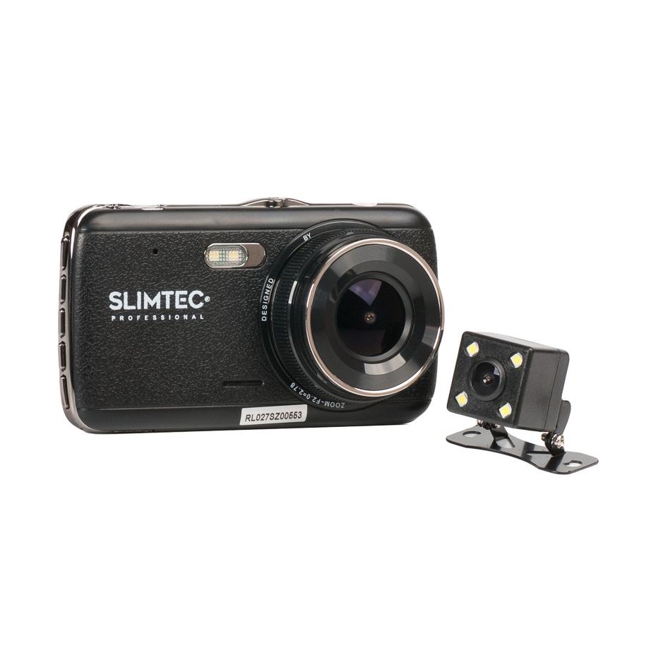 Фото - Автомобильный видеорегистратор SLIMTEC Dual S2l (+ Разветвитель в подарок!) видео