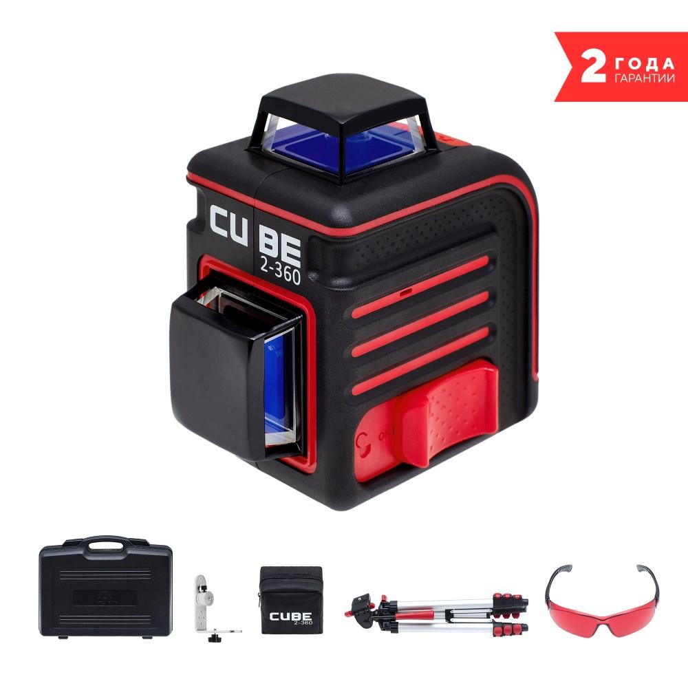 цена на Лазерный уровень ADA CUBE 2-360 ULTIMATE EDITION