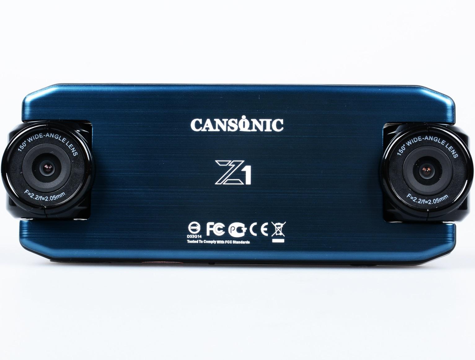 Видеорегистратор Cansonic Z1 Dual GPS (+ Разветвитель в подарок!)