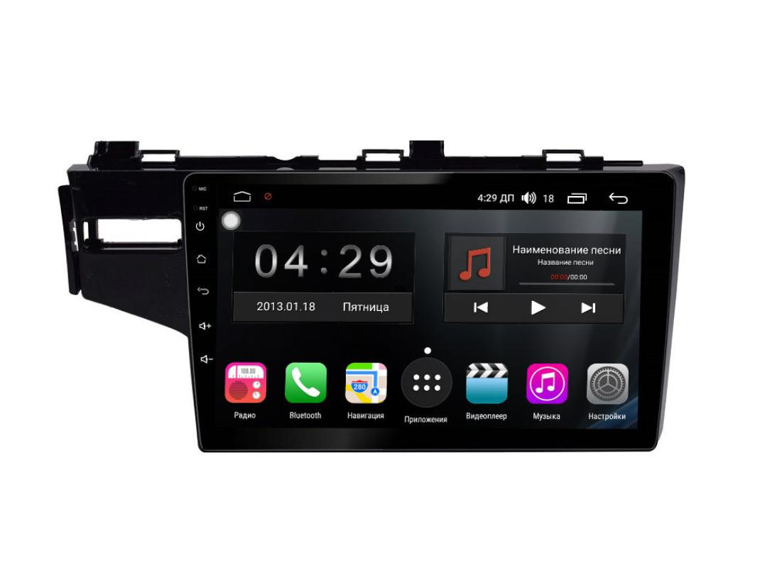 Фото - Штатная магнитола FarCar s300-SIM 4G для Honda Fit на Android (RG1185R) (+ Камера заднего вида в подарок!) штатная магнитола farcar s300 sim 4g для mercedes r class на android rt215r камера заднего вида в подарок