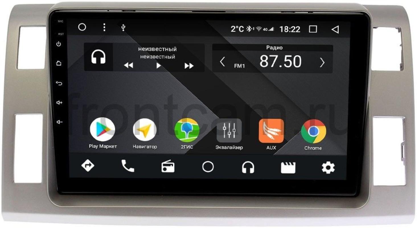 Штатная магнитола Wide Media CF10-1129PM-4/64 для Toyota Estima III 2006-2021 на Android 9.1 (TS9, DSP, 4G SIM, 4/64GB) (+ Камера заднего вида в подарок!)