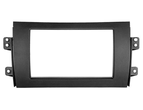 Переходная рамка Intro RSZ-N05 для Suzuki SX4 2007-13 2DIN sncn multi functions car led rear fog lamp brake light bumper light auto bulb decoration lamp for suzuki sx4 2007 2016 2017