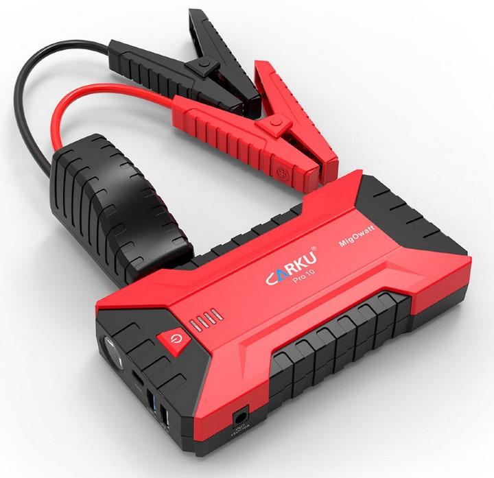 Пуско-зарядное устройство CARKU PRO-10 (+ Салфетки из микрофибры для любых задач в подарок!) зарядное