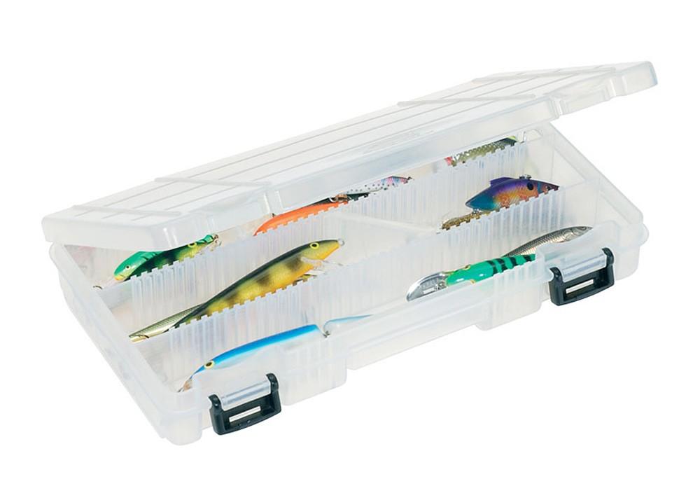 Коробка Plano 3570-00 для приманок с угловыми и линейными разделителями коробка plano 3500 1354 00