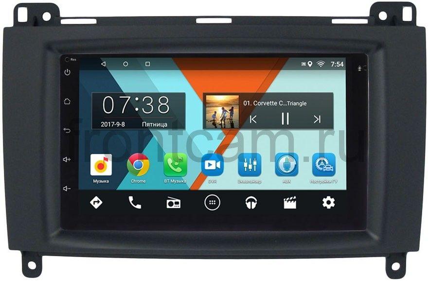 Штатная магнитола Mercedes A-klasse (W169), B-klasse (W245), Vito, Viano, Sprinter 2004-2012 Wide Media MT7001-RP-MRB-57 на Android 7.1.1 (+ Камера заднего вида в подарок!)