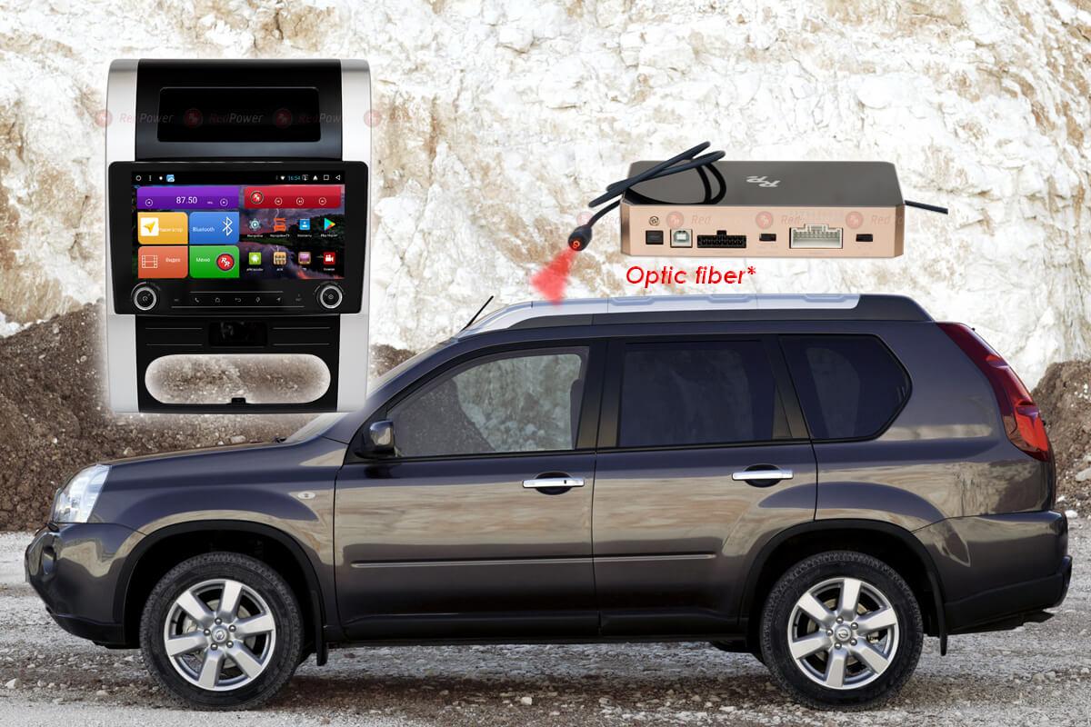 Автомагнитола для Nissan X-Trail (2007-2015) (климат) RedPower K 51001 R IPS DSP ANDROID 8+ (+ Камера заднего вида в подарок!)