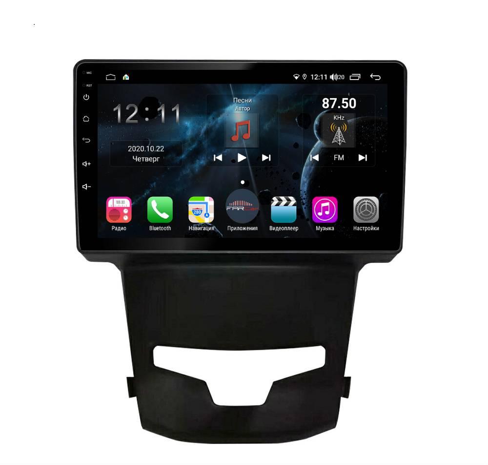 Штатная магнитола FarCar s400 для Ssang Yong Actyon на Android (H355R) (+ Камера заднего вида в подарок!)