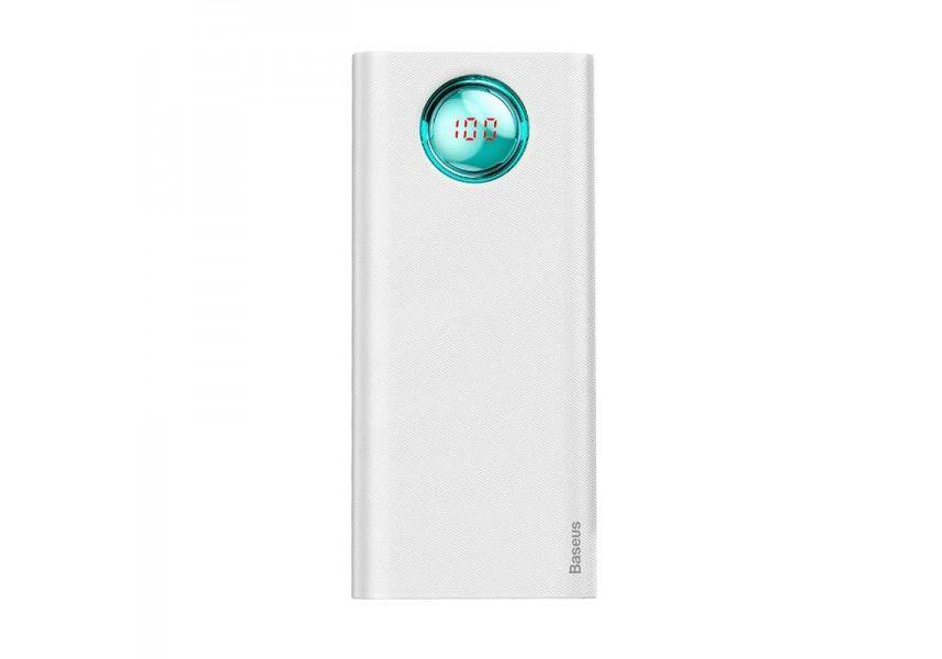 цена на Портативное зарядное устройство Baseus Amblight Digital Display Quick charge PD3.0+QC3.0 Power Bank 18W 20000mAh White