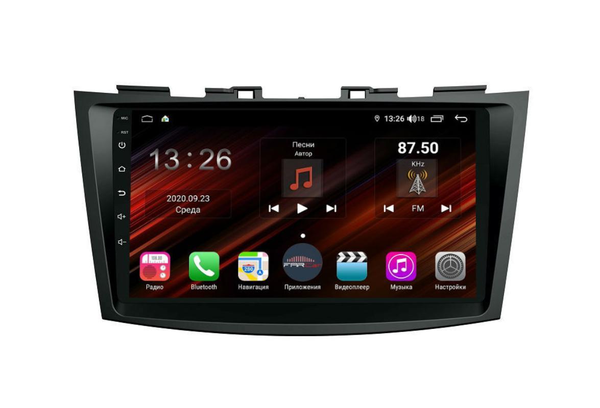 Штатная магнитола FarCar s400 Super HD для Suzuki Swift 2011+ на Android (XH179R) (+ Камера заднего вида в подарок!)