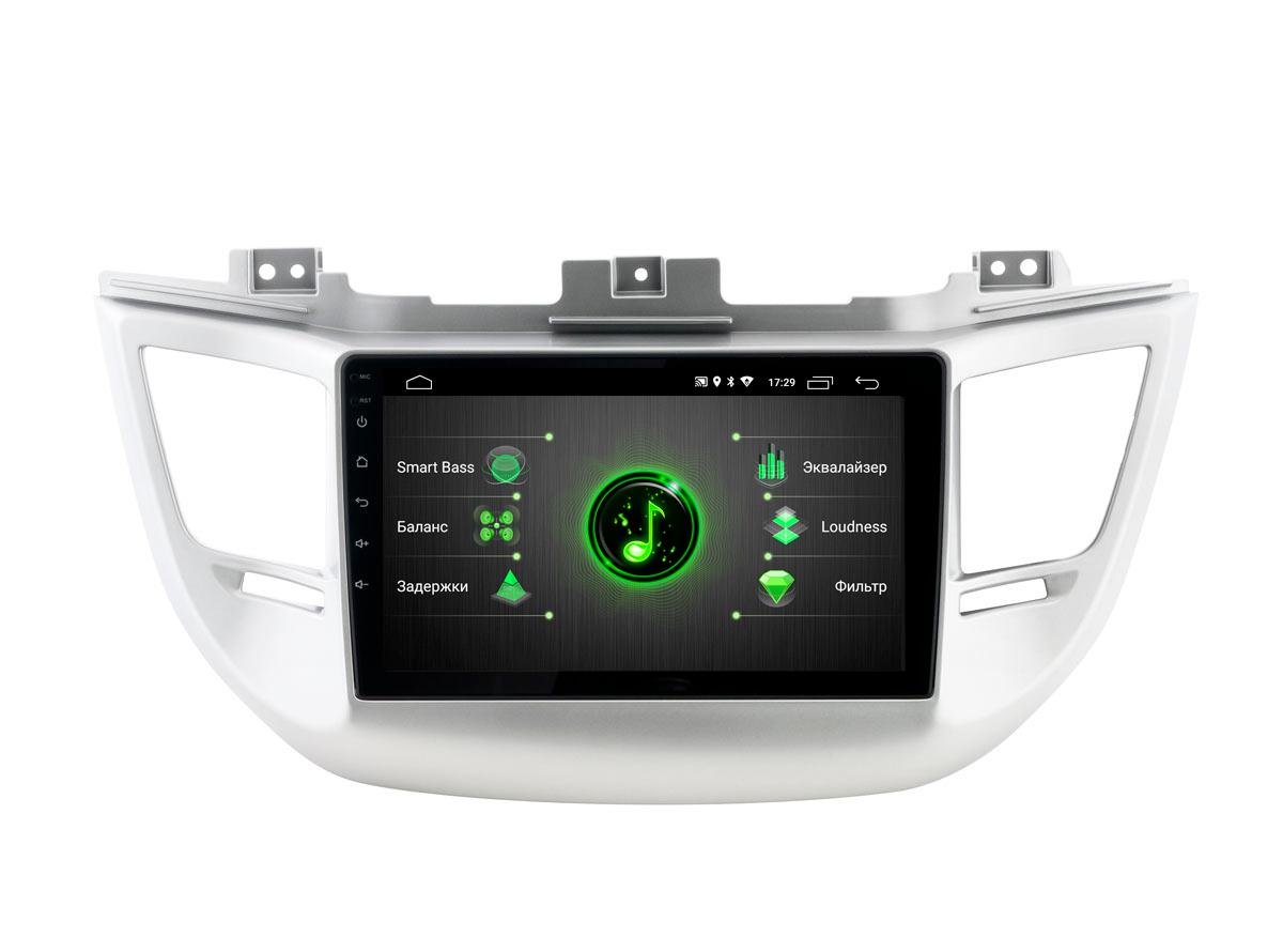 Штатная магнитола Incar XTA-2404r для Hyundai Tucson (2016-2018) Android 10 (+ Камера заднего вида в подарок!)