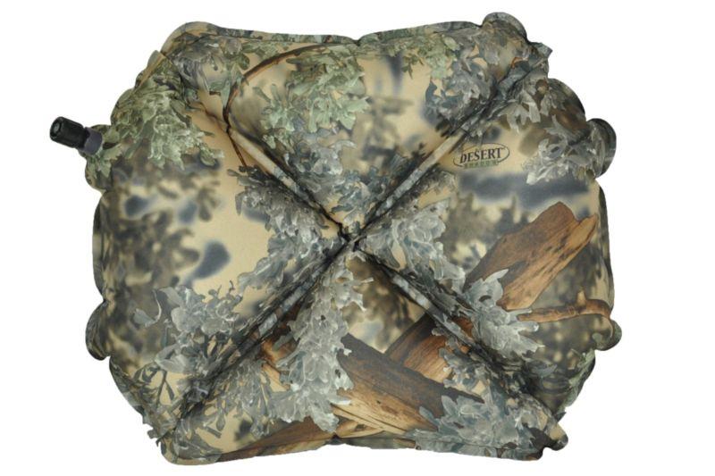 Надувная подушка Klymit Pillow X Camo, камуфляж (12PXKd01C)