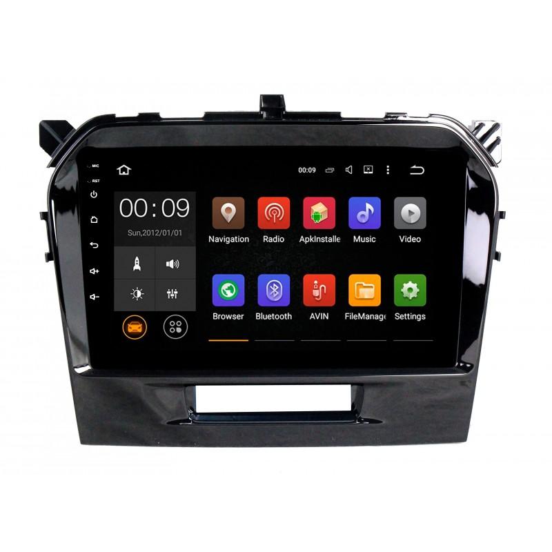 Штатная магнитола Roximo 4G RX-3504 для Suzuki Vitara 2 (Android 6.0) (+ Камера заднего вида в подарок!)