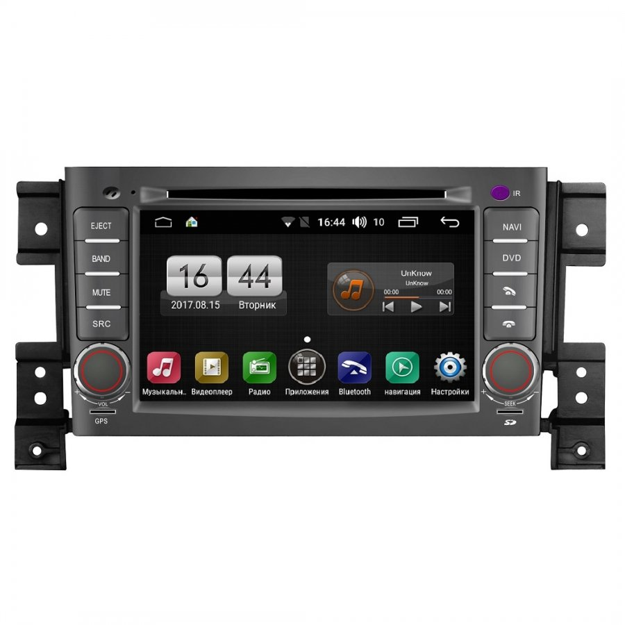 Штатная магнитола FarCar s170 для Suzuki Vitara на Android (L053) junsun 7 inch hd car gps navigation with fm bluetooth avin multi languages europe sat nav truck car gps navigator with free maps