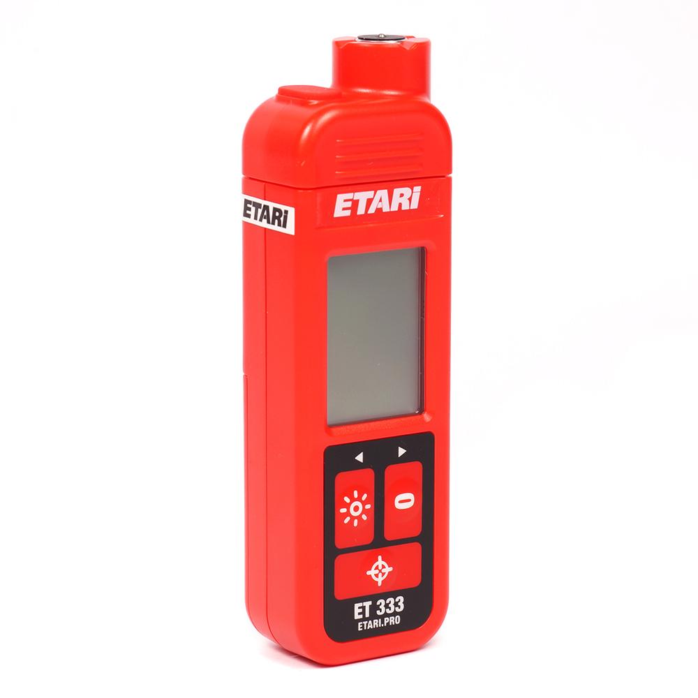 Толщиномер лакокрасочного покрытия Etari ET 333 (+ Два чехла и батарейки в подарок!) толщиномер лакокрасочного покрытия etari ет 600 батарейки в подарок