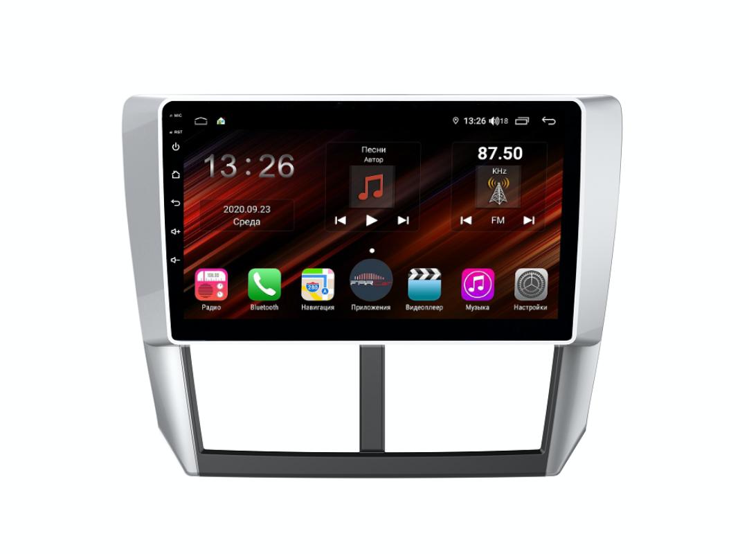 Штатная магнитола FarCar s400 Super HD для Subaru Forester,XV на Android (XH062R) (+ Камера заднего вида в подарок!)