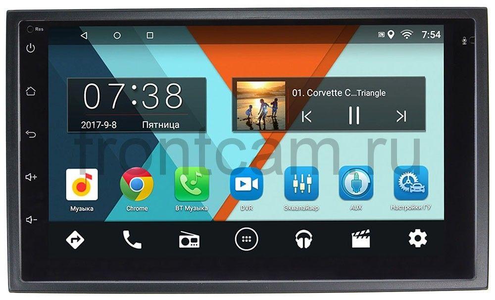 Штатная магнитола Wide Media MT7001-RP-CHTG-46 для Chery Tiggo, Fora, Very, Bonus на Android 7.1.1 (+ Камера заднего вида в подарок!) штатная магнитола letrun 2380 rp chtg 46 для chery tiggo fora very bonus android 8 0 1 mtk l
