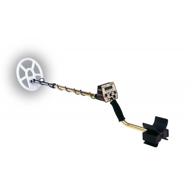 Металлоискатель Tesoro Cortes (катушка 9х8) (+ Совок поисковый в подарок!).