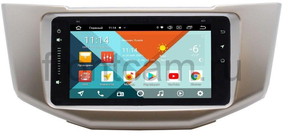 Штатная магнитола Lexus RX II 300, RX II 330, RX II 350, RX II 400h 2003-2009 Wide Media MT6901PK-2/16-RP-TYHR3XC-04 на Android 9.1 (DSP 3G-SIM) (+ Камера заднего вида в подарок!)