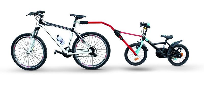 Прицепное устройство PERUZZO Trail Angel детского велосипеда к взрослому красное крепление peruzzo roma tandem 500604