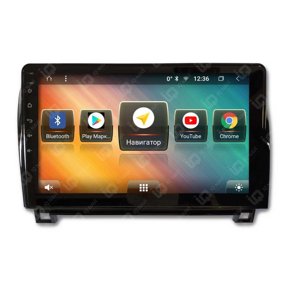 """Автомагнитола IQ NAVI TS9-2933PFHD Toyota Sequoia II (2008+) / Tundra II (2007+) 10,1"""" DSP (4 CH) + 4G SIM (+ Камера заднего вида в подарок!)"""