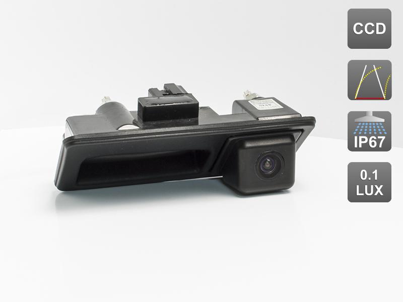 CCD штатная камера заднего вида с динамической разметкой AVIS Electronics AVS326CPR (#003) для AUDI, VOLKSWAGEN, PORSCHE, интегрированная с ручкой багажника free shipping 2pc lot led lights hi q front direction indicator lamp for porsche boxster 987 up to 2008