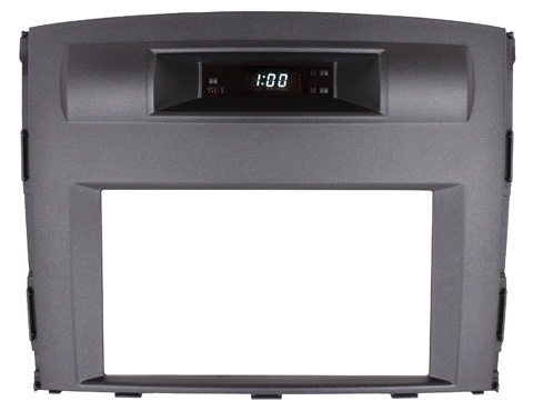 Переходная рамка Intro RMS-N01А для Mitsubishi Pajero 4 2DIN Original (часы)
