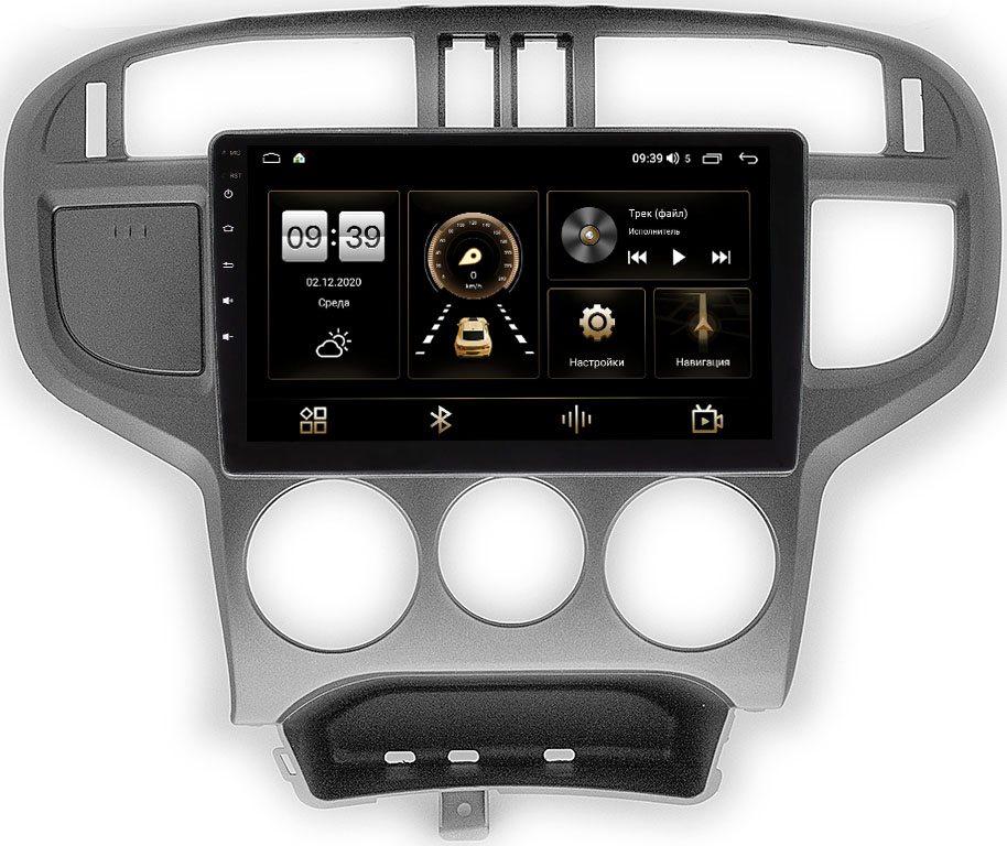 Штатная магнитола Hyundai Matrix I (E130) 2002-2008 LeTrun 4196-9-073 на Android 10 (6/128, DSP, QLed) С оптическим выходом (+ Камера заднего вида в подарок!)