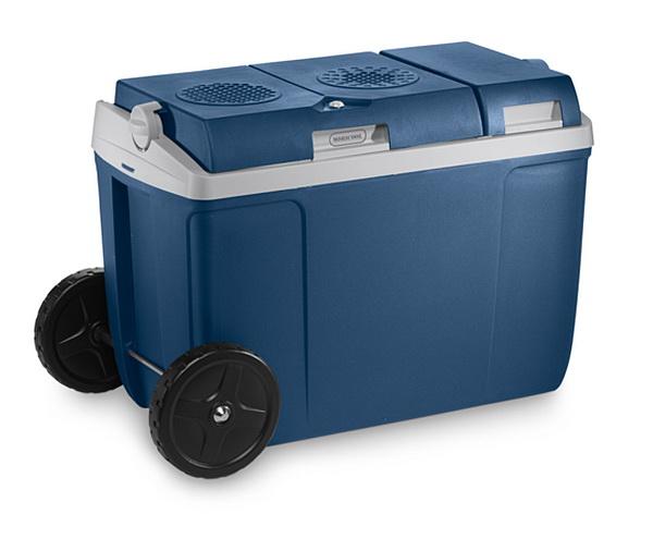 Автохолодильник термоэлектрический на колесах Mobicool W38 (38л, охл./нагр., 12/220В) мужские часы casio dw 6900zb 2e