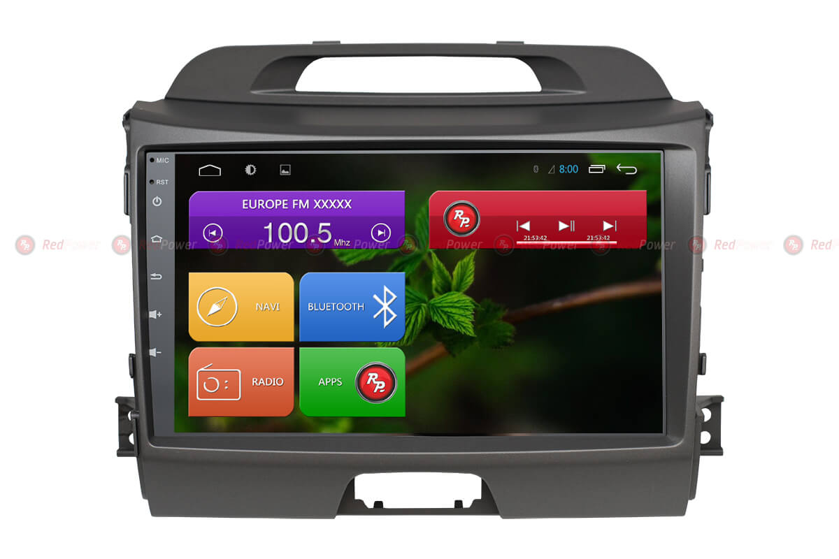 Автомагнитола для KIA Sportage Redpower 31074 R IPS DSP ANDROID 7 (+ Камера заднего вида в подарок!)