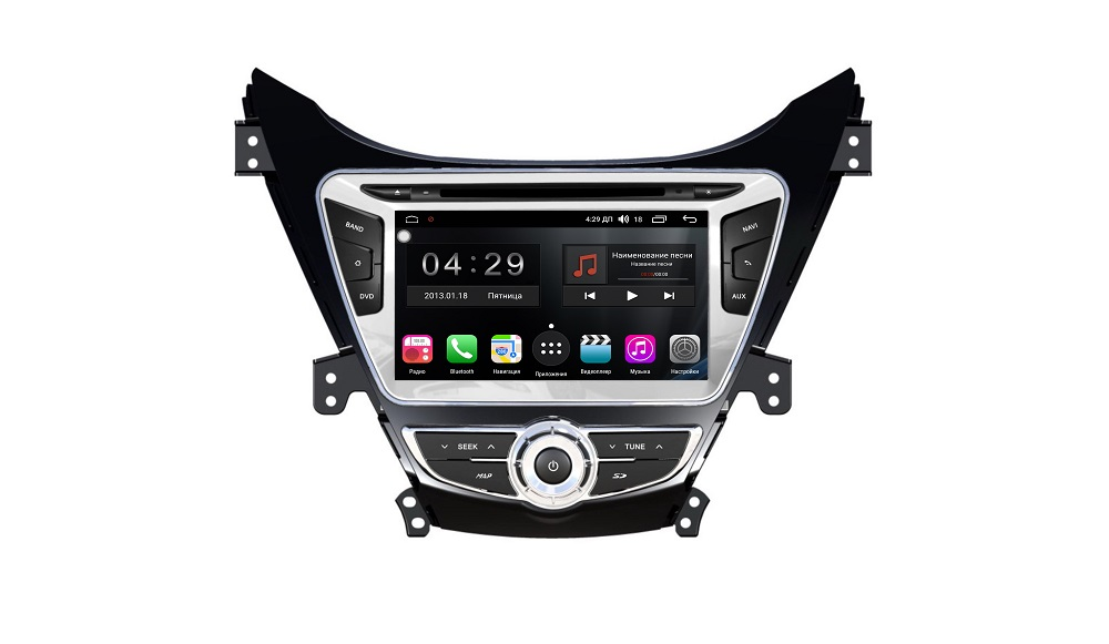 Штатная магнитола FarCar s300 для Hyundai Elantra 2011-2013 на Android (RL360) (+ Камера заднего вида в подарок!)