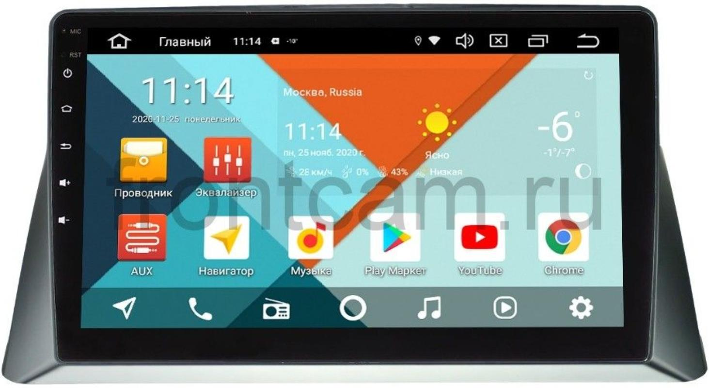 Штатная магнитола Honda Crosstour I Wide Media KS1114QR-3/32 DSP CarPlay 4G-SIM на Android 10 (+ Камера заднего вида в подарок!)