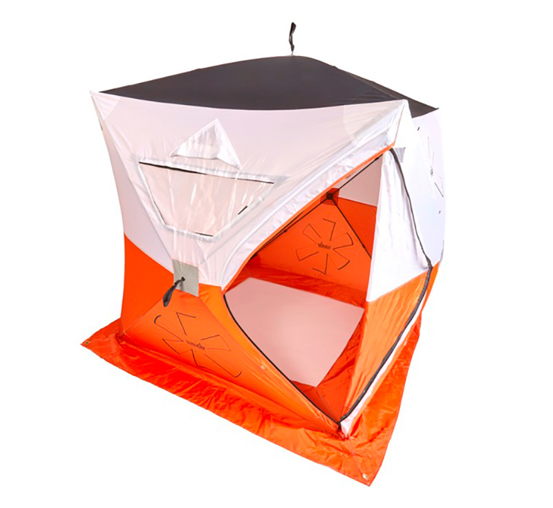 Палатка рыболовная зимняя Norfin Fishing HOT CUBE 175x175x195см (+ Дарим комплект ввертышей для палаки.)