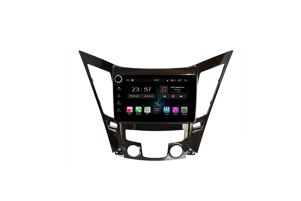 Штатная магнитола FarCar s300-SIM 4G для Hyundai Sonata на Android (RG794RB) (+ Камера заднего вида в подарок!)