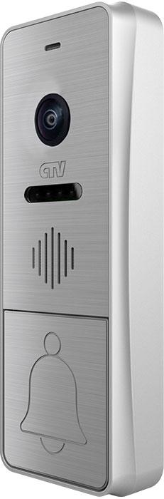 Вызывная панель для видеодомофонов CTV-D4004FHD (серебристый) вызывная панель для видеодомофонов ctv d3001 серебристый