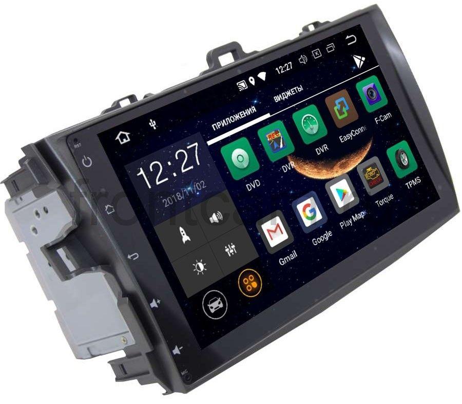 Штатная магнитола LeTrun 2449 DSP для Toyota Corolla X 2006-2013 на Android 8.1.1 (+ Камера заднего вида в подарок!)