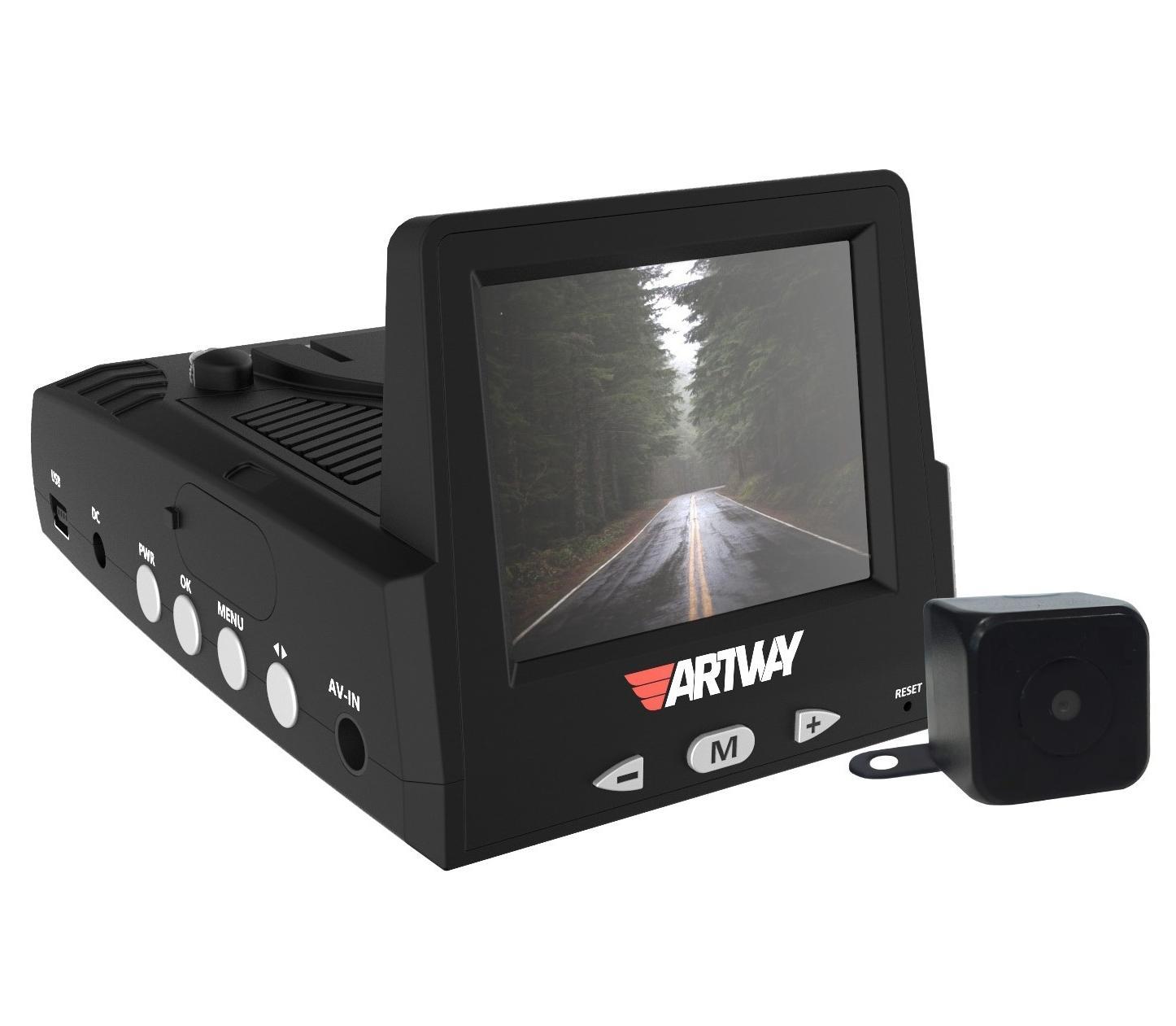 Гибридный видеорегистратор Artway MD-103 (+ Разветвитель в подарок!) видеорегистратор гибридный
