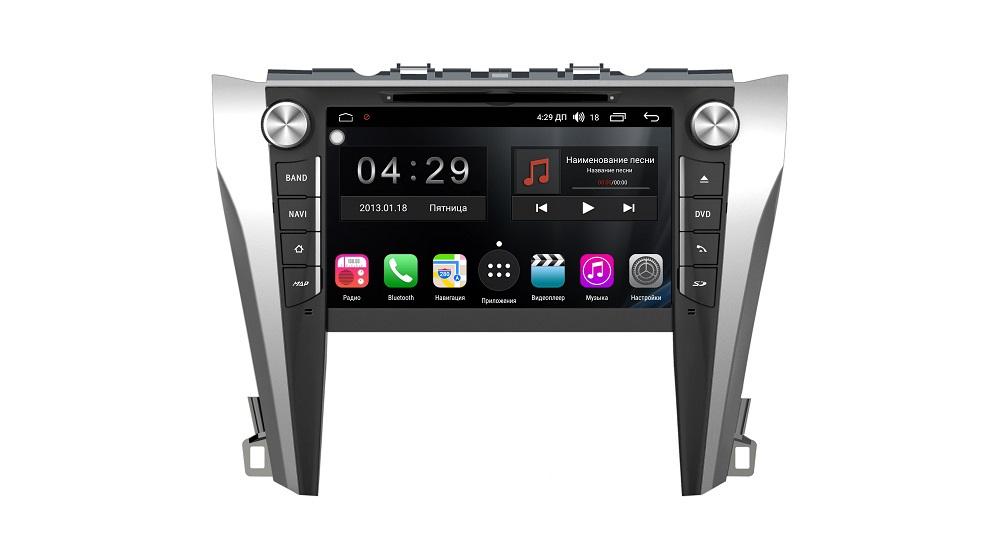 Штатная магнитола FarCar s300-SIM 4G для Toyota Camry на Android (RG432) (+ Камера заднего вида в подарок!)