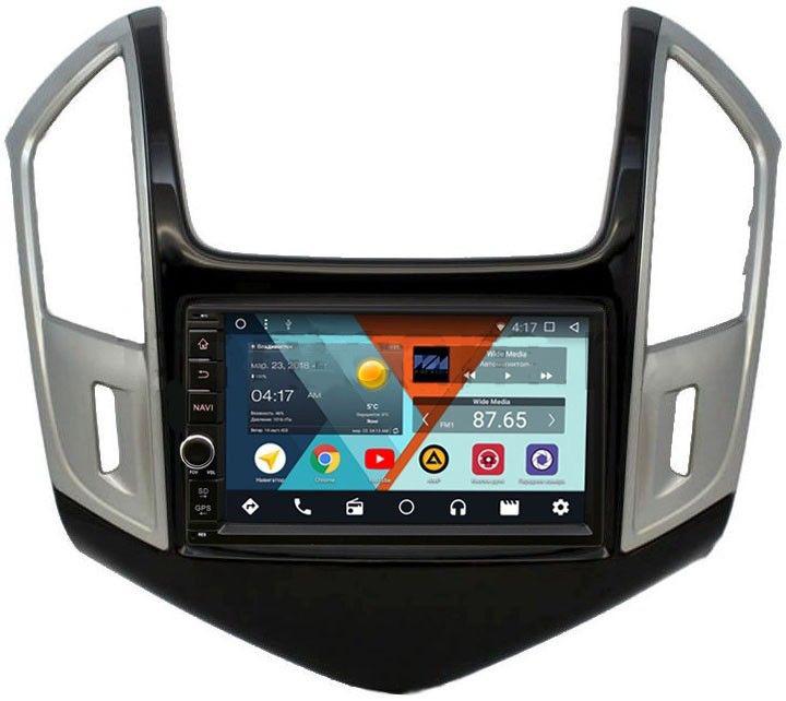 Штатная магнитола Wide Media WM-VS7A706-OC-2/32-RP-CVCRD-62 для Chevrolet Cruze I 2012-2015 Android 8.0 (+ Камера заднего вида в подарок!)