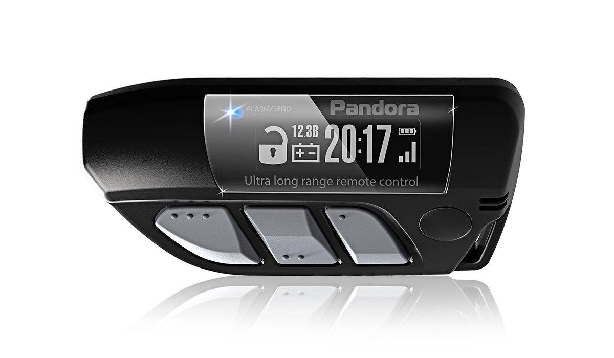 Брелок Pandora LCD DXL 800 black