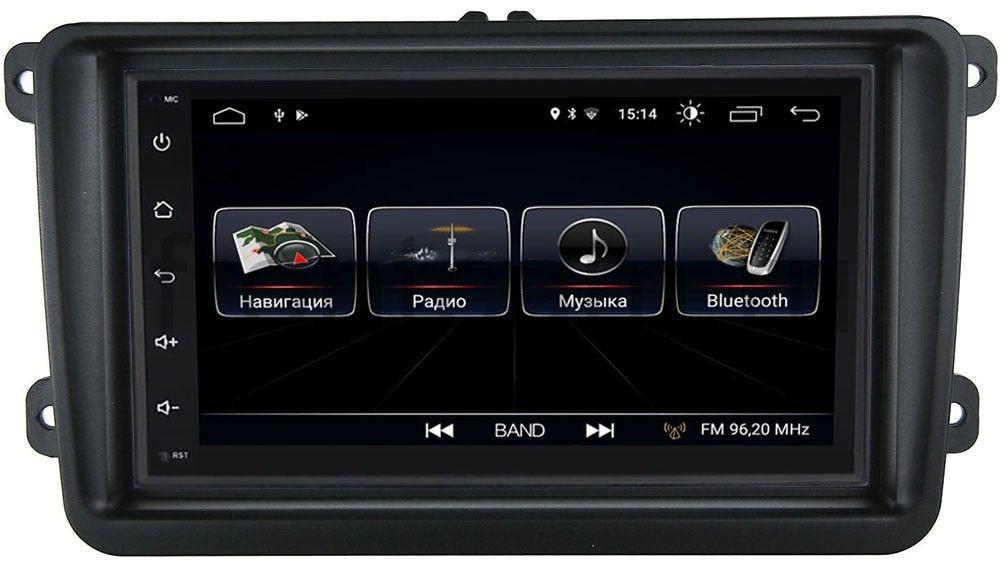 Штатная магнитола LeTrun 2159-RP-VWTRN-22 для Volkswagen Amarok, Caddy, Golf, Passat, Polo Android 8.0.1 MTK-L (+ Камера заднего вида в подарок!)