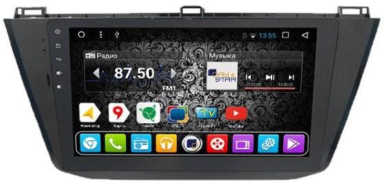 Штатная магнитола DayStar DS-8008HB Volkswagen Tiguan 2017+ ANDROID 8.1.0 (8 ядер, 2Gb ОЗУ, 32Gb памяти) + 3G модем (+ камера заднего вида и 3G модем) штатная магнитола daystar ds 7067hd hyundai elantra 2013 android 8 1 0 8 ядер 2gb озу 32gb памяти