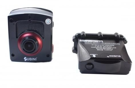 Видеорегистратор с радар-детектором Subini STR-825RU (+ Антисептик-спрей для рук в подарок!).