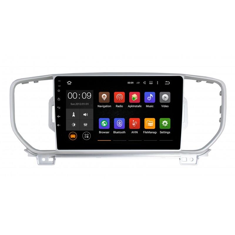 Штатная магнитола Roximo 4G RX-2319 для KIA Sportage 4 (Android 6.0) (+ Камера заднего вида в подарок!)