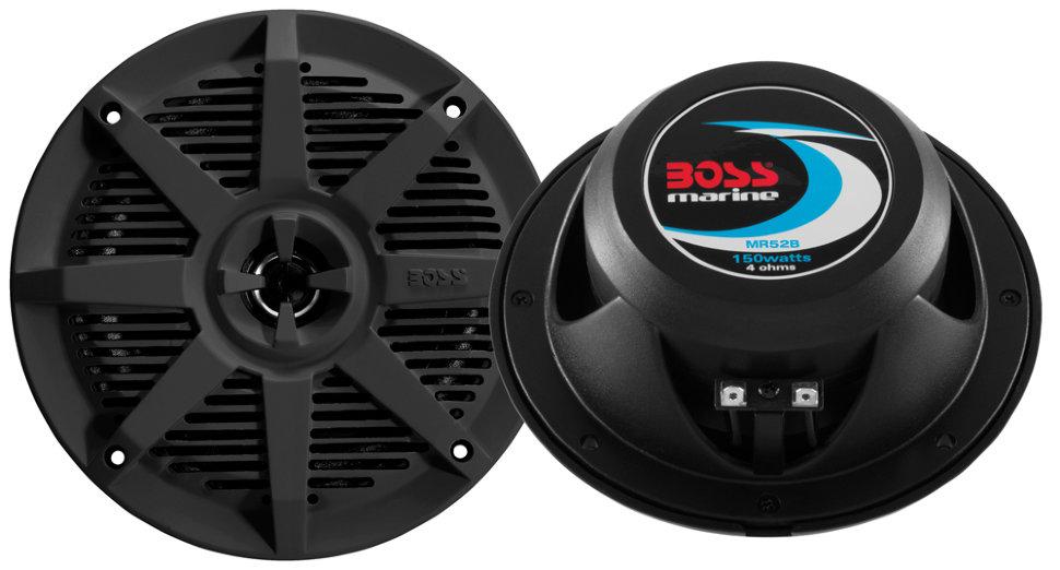 Влагозащищенные динамики BOSS Audio Marine MR6B (6,5, 180 Вт.) boss orange толстовка