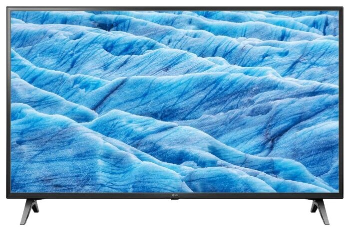 Фото - Телевизор LG 49UM7100PLB, 4K Ultra HD, черный наматрасник dimax аква смарт протекшн 140x190